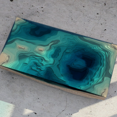 Another Table Design Inspired by Natural Bodies of Water - Core77