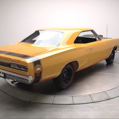 Attention Automotive Sketchers: Motherlode of Classic Cars on 360 Turntables
