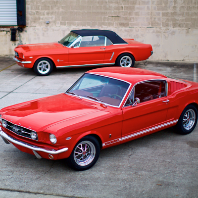 You Can Now Buy a Brand-New Ford Mustang—with the 1965 Body!