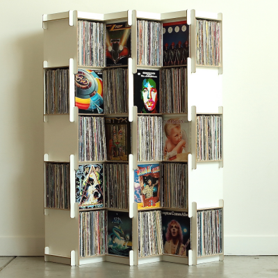 Grow: Fantastic Modular Shelving for Vinyl and More