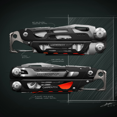 Flotspotting: Leatherman Industrial Designer Kenny Lohr's Multi-Tool Renderings
