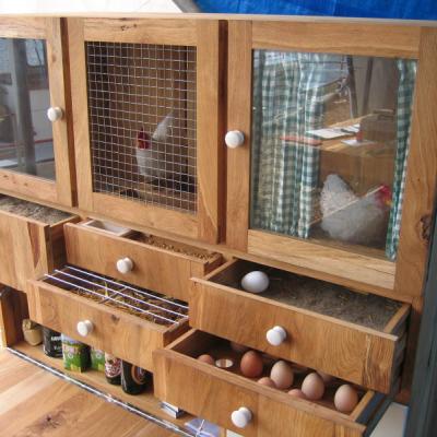 Ton Matton's Chicken Cabinet