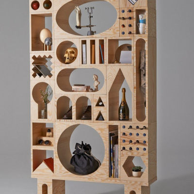 Experimental Modular Storage Furniture