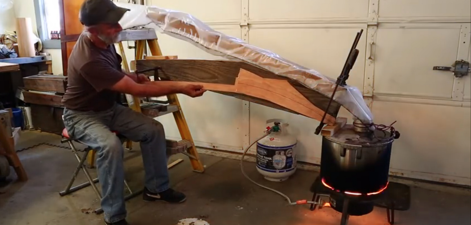 A Better Way to Steam Wood for Bending: Use a Plastic Bag! - Core77