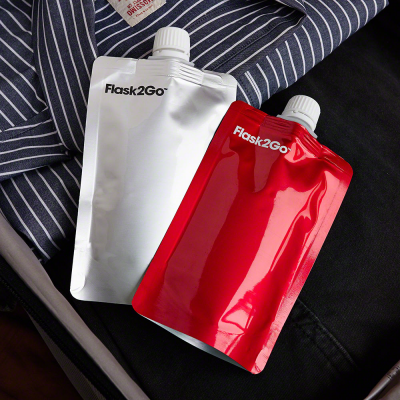Designs for Better Boozing: Foldable Flasks