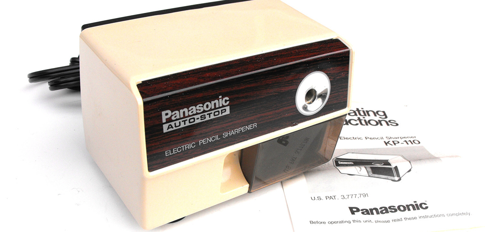 Why are Electric Pencil Sharpeners Made in the '80s Better than New Ones? -  Core77
