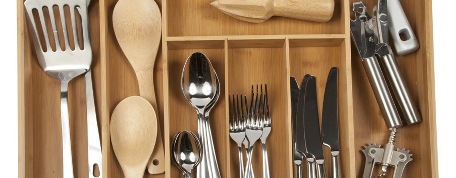 Organize The Kitchen Silverware Drawer