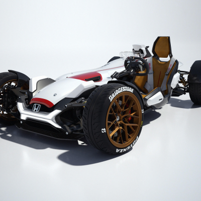 Winner of Honda's Global Design Project is a Car/Motorcycle Mash-Up