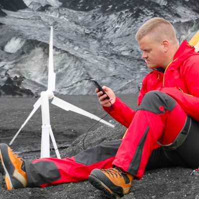 Lightweight, Plug-and-Play Portable Wind Turbines are Coming