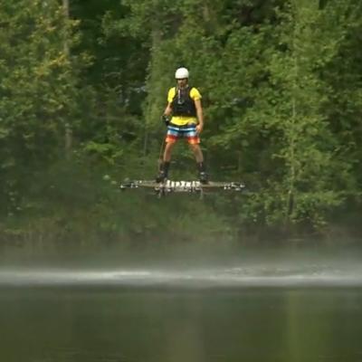 Alexandru Duru's Real, Working Hoverboard