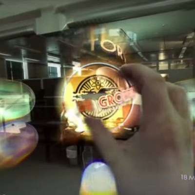 Magic Leap Releases Undoctored POV Video of Their Augmented Reality Technology