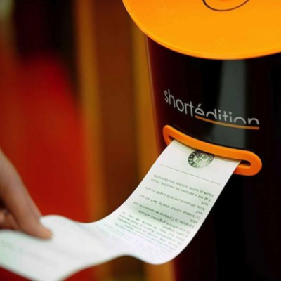 A Kiosk That Spits Out Free Short Stories