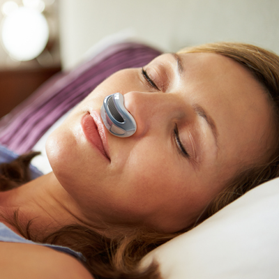 Inventor Creates Tiny Device that Stops Snoring