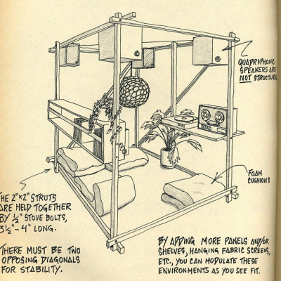 """""""Nomadic Furniture:"""" DIY Designs from the 1970s"""