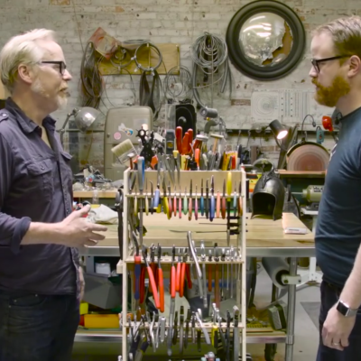 Adam Savage S Custom Tool Storage Stands Core77