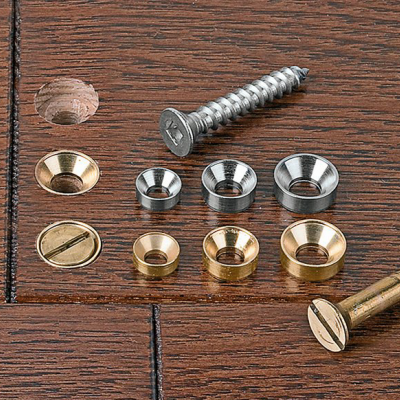 Stronger (and Prettier) Fastening in Wood with Countersunk Washers