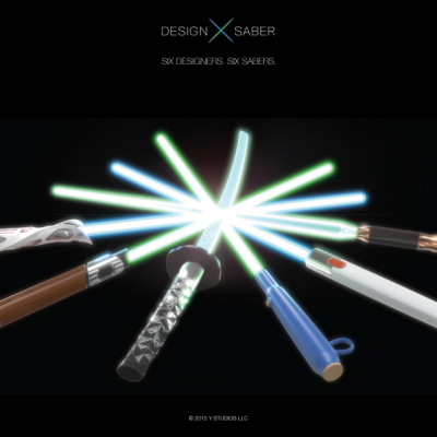 What if Light Sabers Were Reimagined by Iconic Designers?