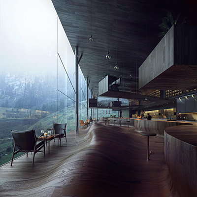 Beautiful Architectural Visualizations from Mir