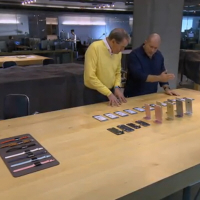 "Video of ""60 Minutes"" Inside of Apple's Secretive Design Studio"