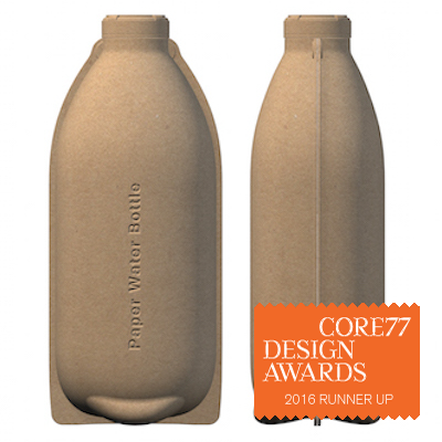 Paper Water Bottle - by Paper Water Bottle / Core77 Design Awards