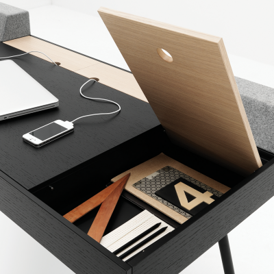 Organizing the Office: Desks With Storage