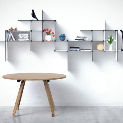 Using Shelves to Make the Most of Any Available Wall Space