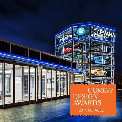 Carvana Car Vending Machine - by Carvana / Core77 Design Awards
