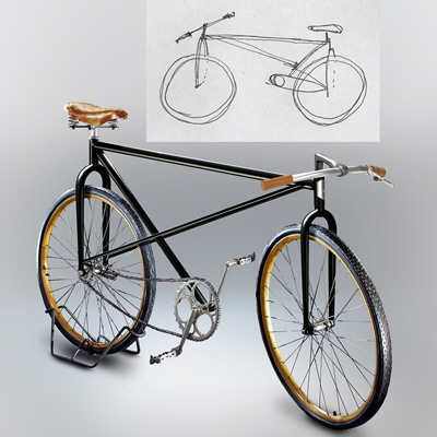 Product Designer Renders Laypeople's Inaccurate Bicycle Sketches - Core77