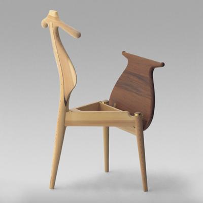 Classic, Practical Furniture Design: Hans Wegner's Valet Chair