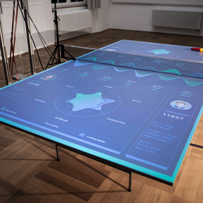 German Carpenter/Interaction Designer's Hi-Tech Ping Pong Table