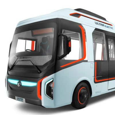 India's SMART City Plans Spawn Innovative Ultra Electric Bus Concept from TATA