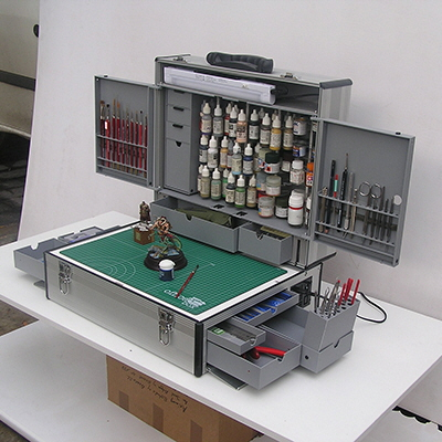 A Workspace in a Briefcase