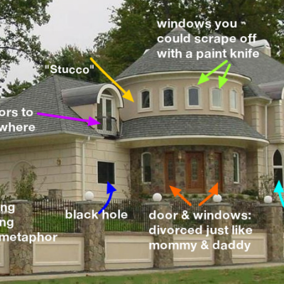 "Hilarious ""McMansion Hell"" Website Tears the Architectural Style Apart With Callouts & Pictures"