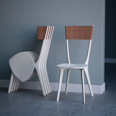 An Innovative Design for a Folding Chair