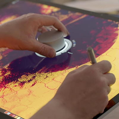 Video of What the Microsoft Surface Studio Will Do for Design Drawing