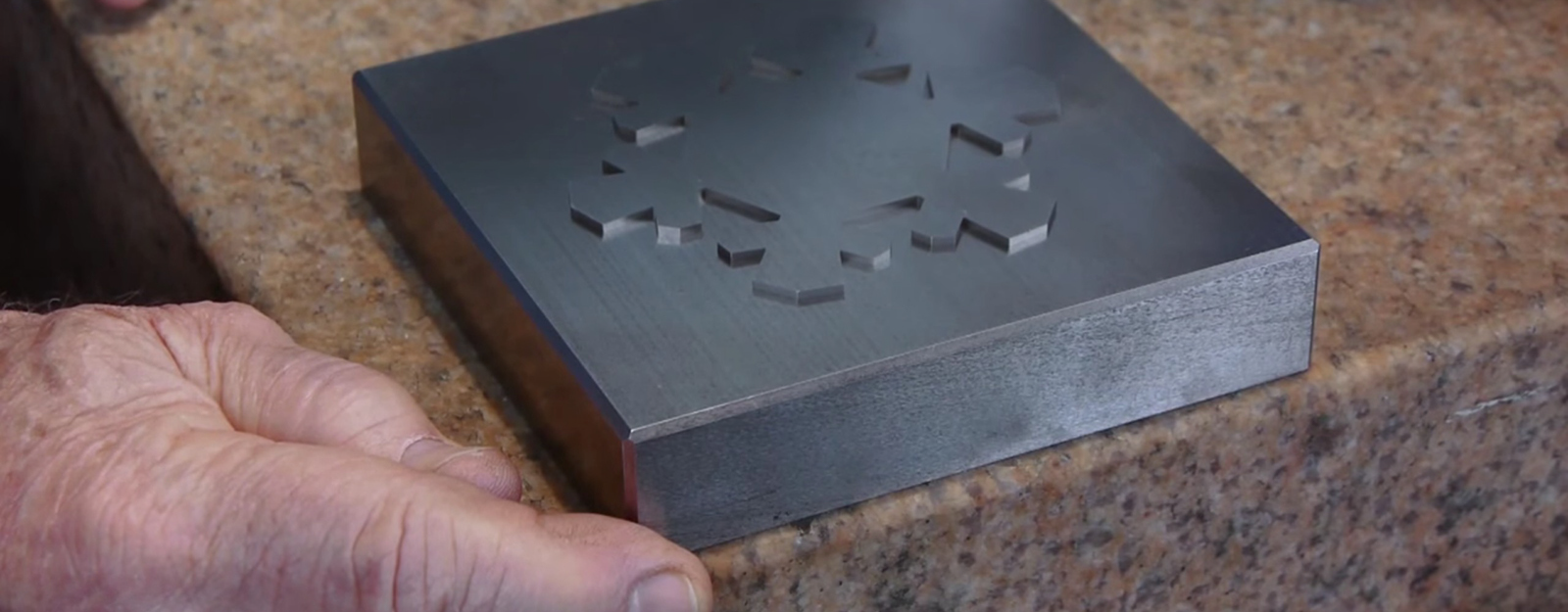 Production Methods: This Disappearing Steel Snowflake Shows