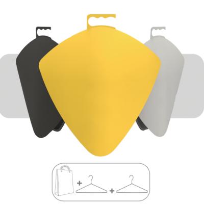 A Student Designed Hanger/Shopping Bag Hybrid Concept