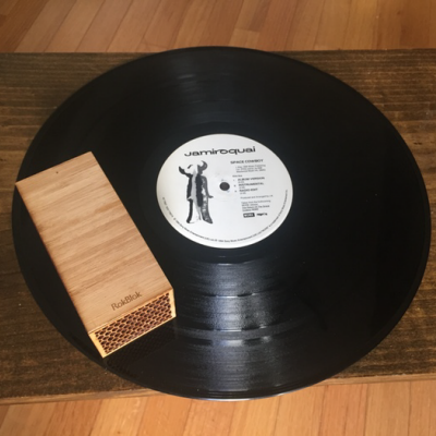 RokBlok: A Tiny Record Player that Drives Around On Your LP - Core77