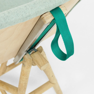 Clever Mechanism Lets This Chair Switch from Desk to Lounge Configuration