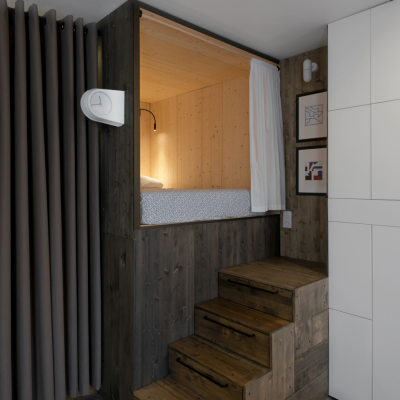 Moscow Designer's Tiny Apartment with Tons of Built-In Storage Solutions