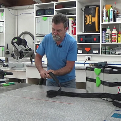 Tool Hacks: This Inexpensive Modification Prevents Your Vacuum Hose from Snagging