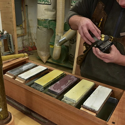 A Japanese Toolbox/Sharpening Station, a Laser-Cut Leather Lamp, a Review of the Ultimaker 3D Printer & More