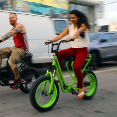 Capuchin Bicycle: A Scooter/Mountain Bike Hybrid