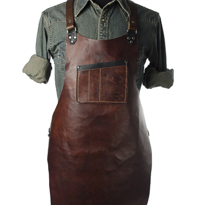 Calavera Tool Works' Rugged Leather Shop Aprons