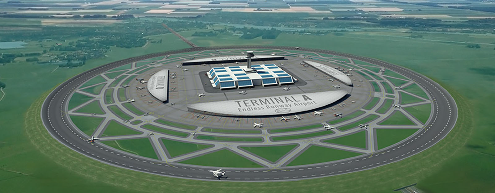 Dutch Concept for Circular Airport Runways - Core77