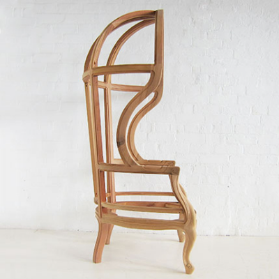 Understanding Furniture Design and Construction by Looking at Chair Skeletons