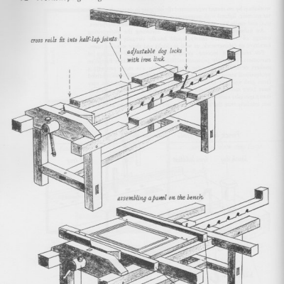 Hand Tool School #27: When You Had to Build Your Own Furniture
