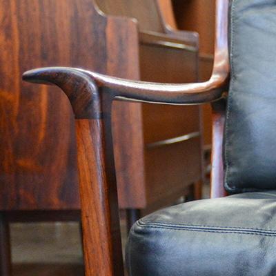 Mid Century Modern Find of the Week: Danish Modern Lounge Chair by Frederik Kayser