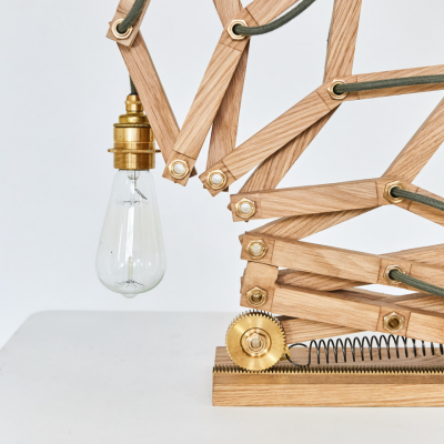 Crane: A Playful, Kinetic Lamp Bringing Back the Joy of Mechanical Devices