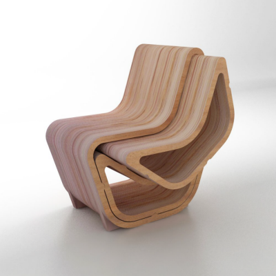This Transforming Chair has More Parts than Meets the Eye